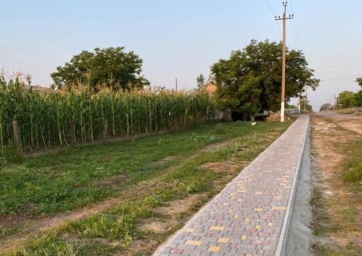 Жителям села на Одещині більше не доведеться місити багнюку