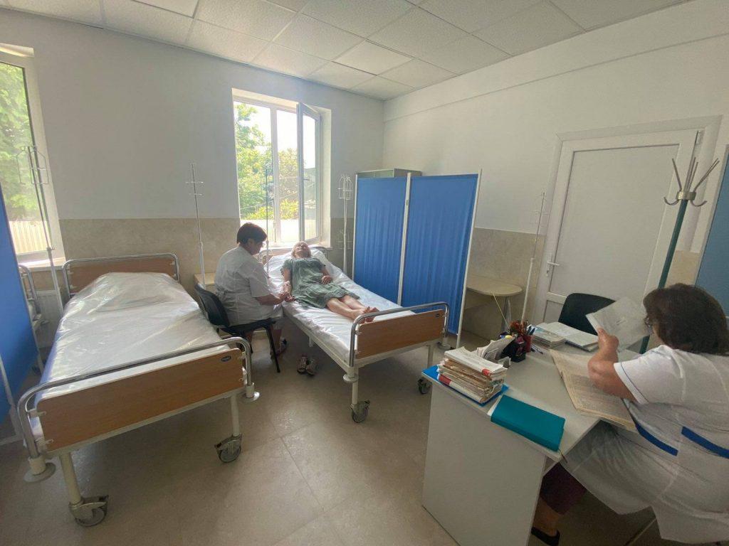 На Одещині центр первинної медико-санітарної допомоги справив новосілля