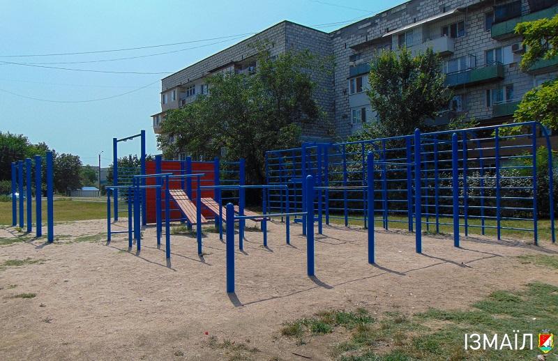 Найбільший житловий комплекс Ізмаїла отримав все для спорту