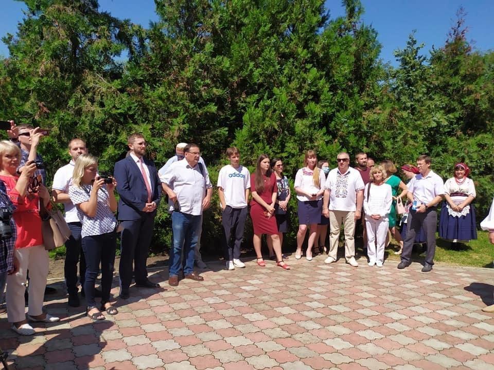 В Одеській області вшанували пам'ять свого земляка та національного героя Польщі