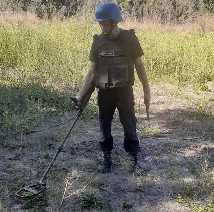 У Березівському районі рятувальники знайшли небезпечну спадщину війни
