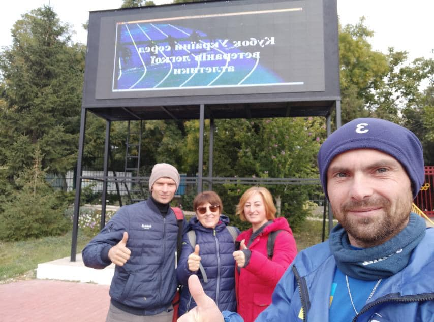 Легкоатлети кращої сільської ОТГ Одещини стали переможцями Кубку України